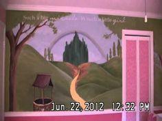 The princess palace! Alexis' perfectly pink nursery :) #simplyforbaby - Jo Ann Fabric nursery contest  :)