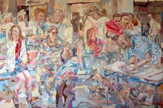 acrylics on canvas, 200 Χ 300 cm