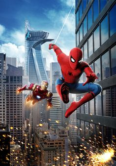 Marvel Fanart, Films Marvel, Marvel Heroes, Marvel Dc, Spider Man Homecoming 2017, All Spiderman, Amazing Spiderman, Spiderman Poster, Movie Posters