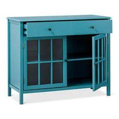 Windham 2 Door Accent Buffet, Cabinet with Shelves - Navy - Threshold™ : Target