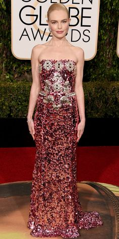Kate Bosworth Spills About Her Girl Power Moment with Sophia Bush Backstage at the Golden Globes from InStyle.com