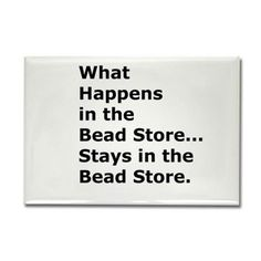 in the bead store