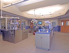 2009 Hospital of the Year: Central treatment room | Hospital Design,like treastment metal tower