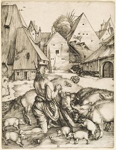 Durer ~ The Prodigal Son