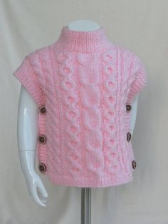 Knitting pattern fascination poncho and hat set all sizes etsy tied swimsuit cover up crochet pattern in adult sizes by Baby Knitting Patterns, Knitting For Kids, Easy Knitting, Knitting For Beginners, Poncho Pullover, Poncho Sweater, Pull Poncho, Diy Crafts Knitting, Vest Pattern