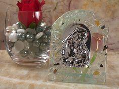 Murano Art Deco Glass Rose Design Icon