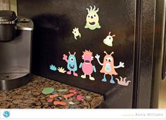 Build-A-Monster Magnets by Annie Williams - Main