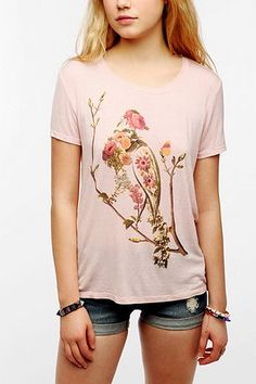 Workshop Botanical Print Tee