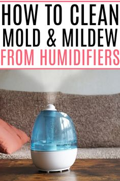 When was the last time you cleaned the humidifier? Check out these simple tips for the best way to clean humidifier. It gets rid of any bacteria and germs quickly and easily. Cleaning Recipes, House Cleaning Tips, Cleaning Hacks, Homemade Bathroom Cleaner, Cleaners Homemade, Green Cleaning, Spring Cleaning, Essential Oil Cleaner, How To Clean Humidifier