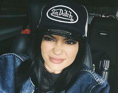 Kylie Jenner rocks a Von Dutch Trucker hat like it's 2005 all over again!