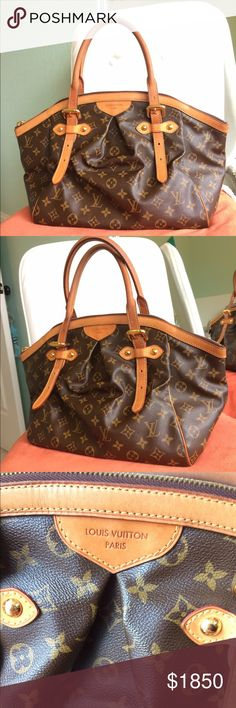 LOUIS VUITTON TIVOLI GM Beautiful bag....more pictures and information in my other closet as well @shindru1. open to trade Louis Vuitton Bags