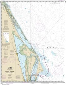 Ponce de Leon Inlet to Cape Canaveral (11484-24) by NOAA