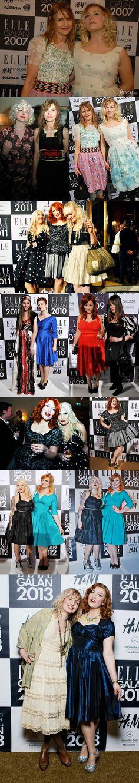Elsa Bilgren's Elle Awards outfits