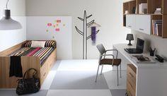 Muebles para dormitorio joven clásico