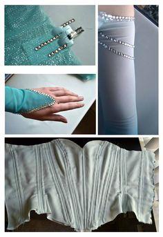 Elsa's bodice