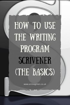 How to use the writing program (the basics). What features Scrivener has and why I love it. This articles covers the project options, templates, how to set up your binder, how to setup your document, things to include in your novel and Writing Quotes, Fiction Writing, Writing Advice, Writing Resources, Writing Help, Writing Skills, Writing A Book, Writing Jobs, Writing Workshop