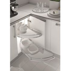 Dynamic Pull-out Combi Corner Base Mechanism