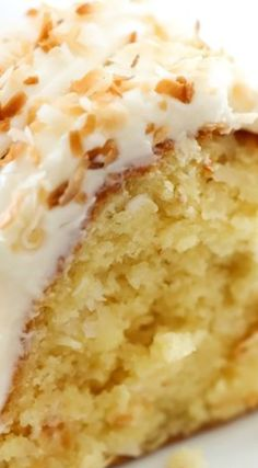 Coconut Bundt Cake ~ This is an incredibly moist cake loaded with coconut…