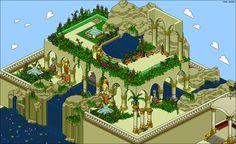 Hängenden Gärten von Babylon Modell Die hängenden Gärten von Babylon