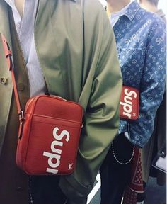 b1766f0c63d3 Louis Vuitton X Supreme Fall 2017 Menswear Collection Supreme Instagram  www.theAlienChild.com Supreme