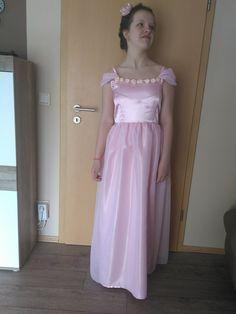 #Kleid für Hochzeit (#Blumenmädchen) selbst genäht