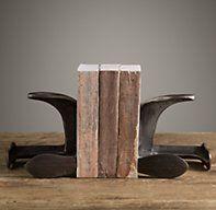 Cobblers Last Bookends | Framed Artwork | Restoration Hardware