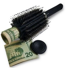 Diversion Safe Hair Brush by Stash-it, Can Safe to Hide Money, Jewelry, or Valuables with Discreet Secret Removable Lid and Bonus Smell Proof Bag Secret Hiding Spots, Secret Safe, Secret Box, Hidden Compartments, Secret Compartment, Secret Storage, Hidden Storage, Stash Spots, Can Safe