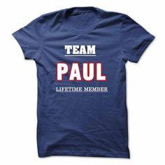 cool PAULs Tshirt and Hoodie - Team PAUL lifetime member Tshirt