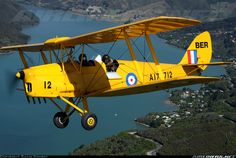 Photo taken at In Flight in New Zealand on December Australian Defence Force, Royal Australian Air Force, Bush Plane, Wooden Airplane, Tiger Moth, Aircraft Pictures, Aviation, September 17, Airplanes