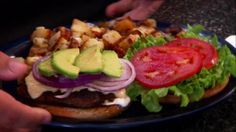 Get Chorizo Burgers and Jose's Salsa Recipe from Food Network