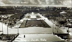 The public garden in Aleppo. Circa Patrick Godeau Collection/photograph by Garbis, Damascus Picture scanned from original X gelatin print Copyright: U. Aleppo, Public Garden, Damascus, Syria, Old Photos, Gelatin, Photo And Video, Architecture, 1950s