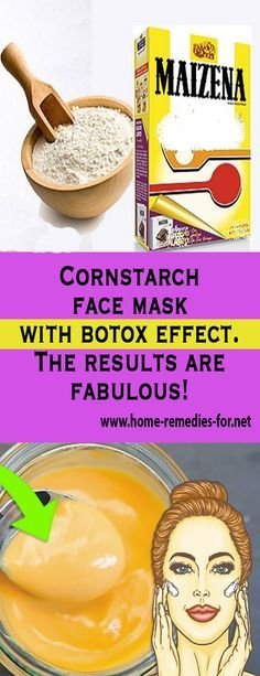 Cornstarch face mask with #botox effect. The results are fabulous! #remedy #health #healthTip #remedies #beauty #healthy #fitness #homeremedy #homeremedies #homemade #trends #HomeMadeRemedies #Viral #healthyliving #healthtips #healthylifestyle #Homemade