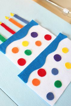Felt board activities are wonderful, quiet activities for your toddler or preschool-aged child to engage in quiet and independent play. This Decorate-a-Cake felt board set is designed for self directed play and to celebrate your little ones birthday! The nature of felt is that it can be put on and pulled off over and over again and will stick to itself. Your child will delight in building the layers, icing them and putting the dots exactly where they are supposed to be! The candles and…