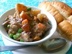 Beef Stew by Once a Month Mom   OAMC from Once A Month Mom