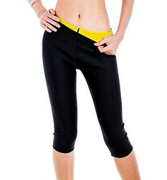 ValentinA Womens Slimming Pants Hot Thermo Neoprene Sweat Sauna Body Shapers >>> More info could be found at the image url. (Note:Amazon affiliate link)