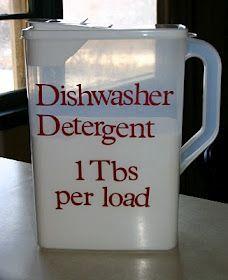 Dishwasher Detergent.