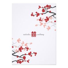 chinese wedding invitation - Google Search