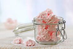 meringues roses