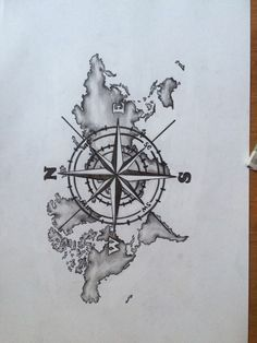 The Best Compass - Tattoo Ideas - - The best compass . - The Best Compass – Tattoo Ideas – – The best compass – tattoo idea - Compass And Map Tattoo, Compass Art, Compass Drawing, Best Compass, Compass Tattoo Design, Compass Tattoos For Men, Map Tattoos, Bild Tattoos, Body Art Tattoos