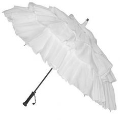 "love anything white and ruffled.. reminds me of the umbrellas in Alvin Ailey's dance ""Wading in the Water""..."