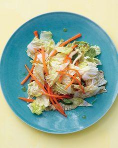 Napa Cabbage Slaw - Martha Stewart Recipes