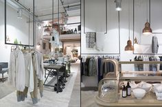 YAYA flagship store Amsterdam Shop Interior Design, Retail Design, Store Design, Visual Merchandising, Fashion Merchandising, Restaurants, Store Interiors, Shops, Coffee Design
