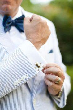 db04221ad886 ... ONGala tie clip and cross pendant. See more. Skull cuff link Seersucker  Blazer, Well Dressed Men, Sharp Dressed Man, Wedding Styles
