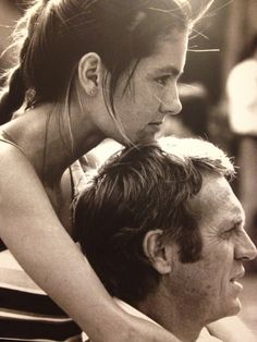 """fabforgottennobility:  Barbara & Steve McQueen, 1979 my edit from """"A Tribute to the King of Cool"""""""
