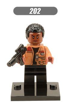 XH 202 Building Blocks Super Heroes Star Wars 7 The Force Awakens Chewbacca Kylo Ren Babo Fett Han Bricks Toys For Children