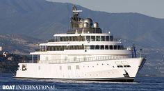 Rising Sun 8th largest yacht 2013
