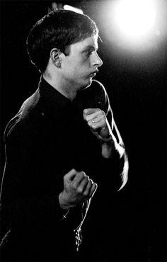 Ian Curtis, live