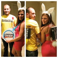 Energizer bunny. Duracell bunny. Halloween costumes