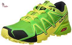 newest 09ce3 c6c75 Salomon Homme Speedcross Vario 2 Chaussures de Course à Pied et Trail  Running, Synthétique