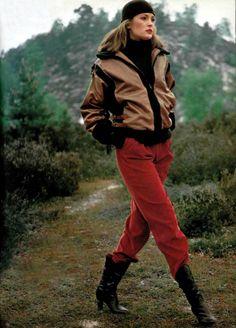 Yves Saint Laurent Fourrures - L'Officiel magazine 1978